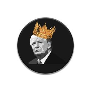 Unisex Introvertiert Emaille Pin Schwarz Weiß Trump Abzeichen Too Peopley Broschen-Beutel-Kleidung Revers Pin Punk Schmuck Geschenk-lustiges Sprechen Sarcastic C # 74