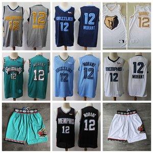 2020MemphisnbaGrizzlies Ja 12 Morant İl Basketbol Formalar Vintage VancouverShareef Abdur Rahim 50 Gömlek Reeves