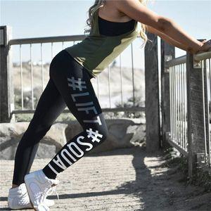 20ss Womens Leggings Womens Fitness Yoga Leggings Running Sport Letters Print Jogging Pants Trousers Sport Leggings Track Pants Size S-XL