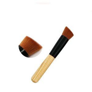 Single Fraxinus mandshurica wood handle blush brush multi-function brush professional beginners toiletries