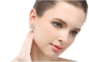 Valentine's day gift women's S925 sterling silver stud earrings SS925 earring lady's creative ear stud earbobs factory suppli A92