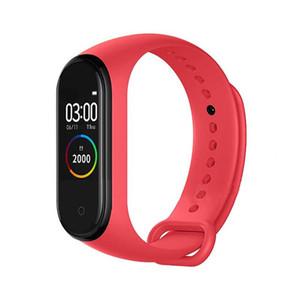 M4 Smart Armbands Band Fitness Tracker Watch Sport Armband Herzfrequenz Blutdruck Smartband Monitor Gesundheit Armband 4 Farben