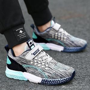 2019 Nouveaux Garçons Filles Sport Chaussures Décontractées Enfants Running Sneakers Enfants En Plein Air Chaussures De Marche Garçons Baskets Taille 26-37