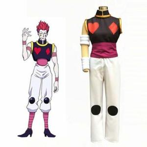 Caçador X Hunter Mágico Poker Joker Hisoka Morow Serial Assassino Cosplay