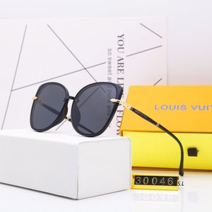 The new fashion leisure ladies sunglasses sell like hot cakes women Luxury Designer Brand 1L