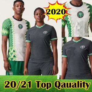 2020 Африка Кубок Нигерии Новый футбол Джерси 20 21 Home Away Okocha AHMED Майо-де-футовый Нигерия Okechukwu MUSA Микель Iheanacho футбол рубашка