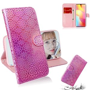 Für Xiaomi Mi Anmerkung 10 Lite Solid Color Bunte Magnetic Buckle Horizontal Flip PU-Leder-Kasten mit Halter-Karten-Slots Wallet Lanyard