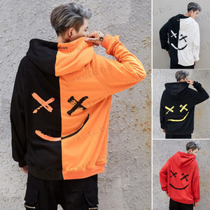 2019 New Fashion Hoodies Männer Hoodie mit Kapuze Hoody Pullover Gym Work Sweatershirt Tops Jumper Herbst Outwear Sweatshirts
