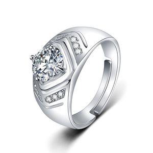 2020 High version 1-3 carat diamond designer rings bague mens marry wedding engagement Lovers gift luxury jewelry