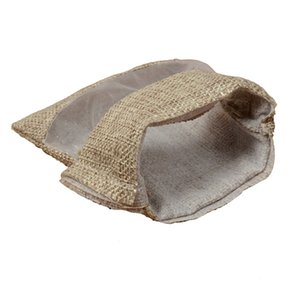 30Pcs Flax Organza Bags Burlap Drawstring Pouch Christmas Gifts Bag Wedding Party Bags for Coffee Beans Candy Makeup Jewelry Pac