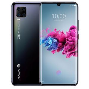 """Original ZTE Axon 11 5G LTE Mobile Phone 8 GB de RAM 256GB ROM Snapdragon 765G Octa Núcleo Android 6,47"""" Phone 64MP cara ID de impressão digital inteligente celular"""