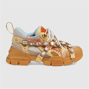 Gucci shoes повседневная обувь, дизайнерская мужская женская, весенняя и осенняя кожаная повседневная обувь мужская вентиляция уздечка бриллианты женская обувь Hococal