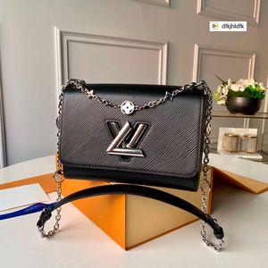M55411 простой черный Саржа сумка креста тела сумка женщины сумки знаменитой топ-ручки сумки на плечо сумки креста тела сумка вечерние клатчи