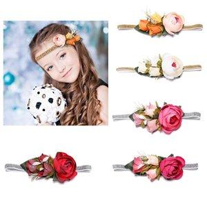Çocuk Düğün Çiçekleri haarband Kız Şapkalar Prenses Tiara çocuklar Hediyeler için Haar aksesuarları Accessoires diademas ninas