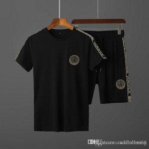 summer Brand Sweatshirt Luxury Designer Jogging Suit Men Running Tracksuits Mens Short Sleeve Tshirts Pants Medusa mens sportswear