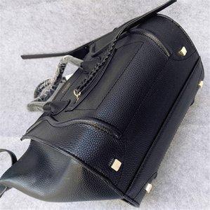 2020 venta caliente de las alas de paquetes París Francia Classic Moda Bat paquete de bolsas de cuero fantasma sonrisa avergonzada paquete bolso de Boston