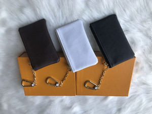4 Farbe KEY POUCH Damier Leder hält hohe Qualität berühmte klassische Designer Frauen Schlüsselhalter Geldbörse Kleinleder Key Wallets mit Kasten