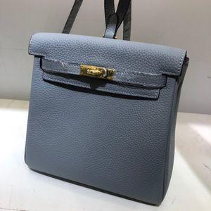Piccole dimensioni Moda Borse donne dello zaino della spalla Bag Nuovi colori del cuoio genuino del Cowskin borse borse a spalla signora di alta qualità