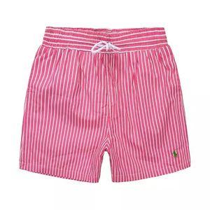 2019 Nuevo listado de moda para hombres Little horse Beach pants stripe Design Summer POLO Shorts para hombre Swim Wear Board Shorts de secado rápido