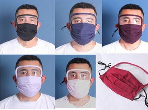In Face 1 Washable Face Mask With Pm2.5 Breathable Masks D6809 Plastic Clear Shield Eye Cover Slot Reusable Cycling 2 Cover Filter Cipbi