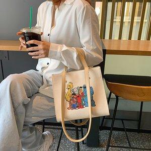 2019 nueva moda Mujer Bolsa de lona Messenger Ladies Crossbody bolso de la bolsa Bolsa de moda hongri / 7