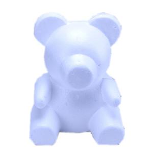 pe için 1 adet PE köpük modelleme polistiren ayı tavşan köpek kafası ayı zanaat hediye Sevgililer Günü gül