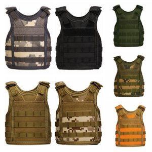 Tactical Christmas Beer Bottle Beer Vest Cover Military Mini Molle Vest Personal Bottle Drink Set Adjustable Shoulder Straps
