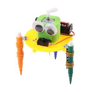 Завод прямой наука и техника небольшие, делая небольшие зрачки изобретения творческого изобретение ручного поделки материал рисунок робот