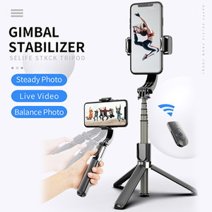 Anti-Shake Selfie Stick 360° Rotate mobile Phone Selfie Stick Gimbal Stabilizer Bluetooth Remote Control Tripod phone holders