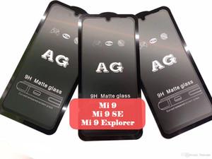 AG Mat 9H Koruyucu Kavisli temperli cam Film Ekran Koruyucu Güvenlik İçin Xiaomi Mi 9 SE 8 Lite Mix 3 F1 redmi Not 7 6 Pro 6A Git S2 K20