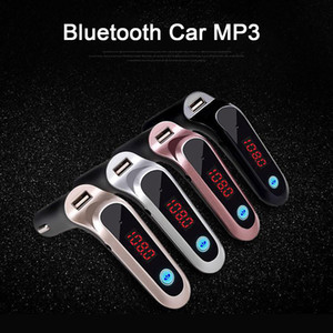 S7 Car MP3 Bluetooth Player Hands-free Wireless Car Kit LCD Hands-Free FM Transmitter MP3 Music Player Mobile Phones Tablets