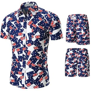 20SS Holiday Holiday Floral Tracksuits Beach Costumes Summer Designer Mer Mens Hommes Casual Cjera