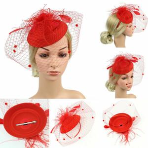 Frauen Sinamay Fascinator Party-Hut-Hochzeit Kirche Kentucky Derby Hüte