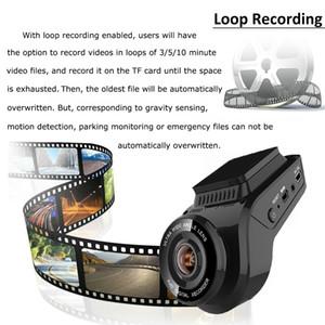 Auto-Schlag-Nocken-2160P 4K Ultra HD mit 1080p-Rückfahrkamera WiFi GPS Logger ADAS-Doppelobjektiv dashcam Auto-DVR Nachtsicht-32G Sd