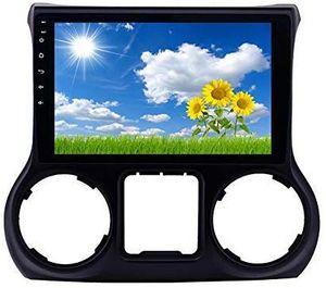 Bluetooth Destek Dikiz Kamera OBD II ile 2011-2017 Jeep Wrangler Sol El Drive 10.1 inç Android 9.0 GPS araç Stereo