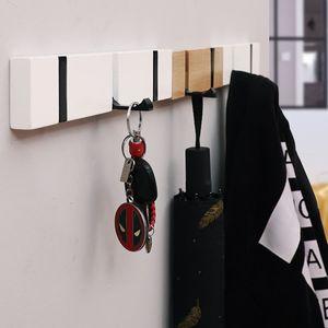 Современного Крючки вешалка держателя одежда хранение Hidden Hook Гобелен Вешалка Home Decor Аксессуары Крючки вешалка