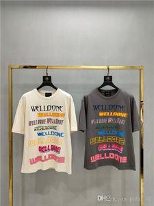 Luxury fashion men's hip-hop T-shirt high quality 3D printing jogger champion T-shirt casual black and white T-shirt HMT104