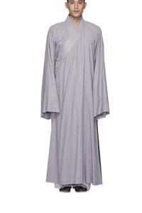 Этническая одежда Zanying буддийская дзен халат медитация монахов наряд большие повседневные мужчины