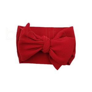 Nette IN Baby-Haarbänder elastischen Baby-Stirnband-Haarband-Kleinkind-Bogen-Stirnband Haarband Turban Baby-Kopfbedeckung-Kopf-Verpackung 30style RA2219