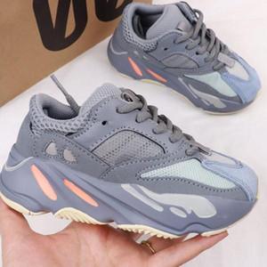 free shipping Reflective trend of famous designer brands Running Shoes Infant Children Boys Girls Enfants Outdoor Shoes 3m 28-35