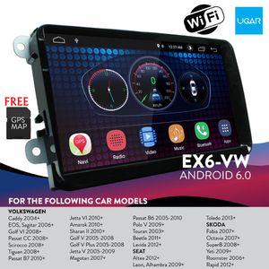 9 polegada volkswagen passat b6 b7 2006-12 unidade de cabeça do carro Android dvd para com navegação do GPS do carro estéreo wi-fi bluetooth