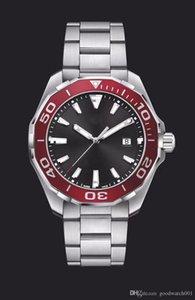 высокого качества Мужская Калибр хронограф Швейцарский часы моды из нержавеющей стали кварцевые спортивные мужские Часы мужские наручные часы