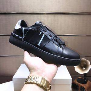 Nom de marque Paris Designs Lacets Casual Vintage clouté de Spike Sneakers Low Cut luxe de soirée de mariage Formateurs en cuir FOURGONS
