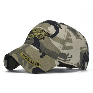 Fashion camouflage embroidery baseball cap military fan hat male badge cotton hat summer