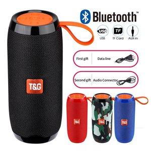 TG106 Bluetooth Speaker Outdoor portátil Coluna sem fio Altifalante Box Soundbar Preto Azul Red Outdoor Sports Música Jogar TG Speaker Series