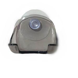 1Pcs Clear Blue Plastic Super Suction Cup Razor Rack Bathroom Razor Holder Suction Cup Shaver