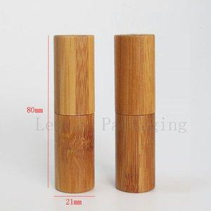bamboo lipstick tube container DIY lip gloss cosmetic containers, lip balm tube containers, lip stick tubes