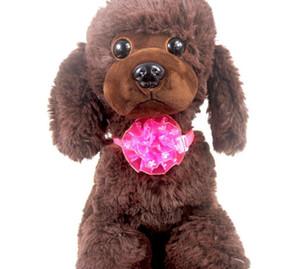 cucciolo del gatto dell'animale domestico del cane cravatta scintillio fiori arco regolabile accessori cravatta collare collana di bowknot toelettatura per animali domestici decorazione fornitore Costume