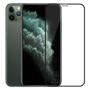 2pcs temperado película protetora de vidro para o iPhone 11 Pro Max XR X XS Max 7 8 6 Plus protetor de tela