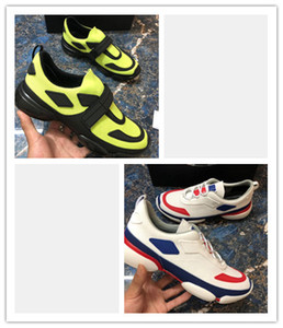 Las zapatillas de deporte del diseñador de moda de la venta caliente 18SS 2020 Cloudbust los calzados informales de lujo del zapato ocasional de los hombres de las mujeres manera del cuero genuino Zapatos Pegar n2